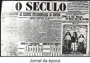 "Miracle of the Sun - ""O Seculo"" newspaper."