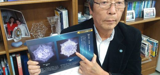Dr. Masaru Emoto research with water.